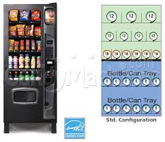 Soda Vending Machine Dimensions Enchanting Buy Dual Zone Snack And Soda Vending Machine 48 Selections