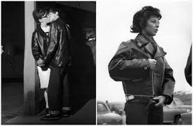 1960s women s leather jackets go more mainstream thanks to mod fashion