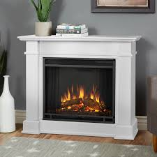 real flame devin petite 36 inch electric fireplace with mantel white 1220e