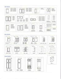 Standard Kitchen Base Cabinet Sizes Chart Exceptional Kitchen Cabinets Sizes 2 Standard Kitchen