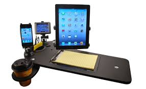 Auto Mobile Office Car Desk And Docking Station For Electronics Journidock