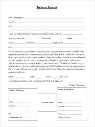 Delivery Receipt Form Template Unique Beneficial Proof Of Delivery Receipt Template Payment Minetake
