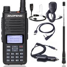 <b>Baofeng DM 1801</b> Digital <b>walkie talkie</b> tier 2 tier II Dual time slot ...