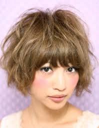 ショートパーマ髪型ke 95 ヘアカタログ髪型ヘアスタイル