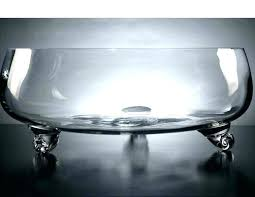 bowls large glass bowl for fish extra bowls centerpieces mixing floating candle holders clear vase