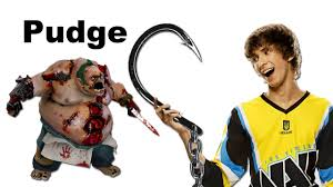 dendi best pudge in dota 2 world youtube