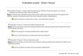 8. Evaluation Questions & Projects. | Doview