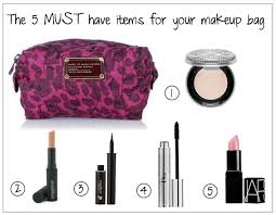 must have items in your makeup bag