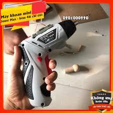 ⚡RẺ VÔ ĐỊCH⚡Máy khoan mini cầm tay Joust Max NX-24802L - Sạc pin tĩnh điện  kèm 45 chi tiết SIÊU tiện lợi - Máy khoan Nhãn hàng JOUST MAX