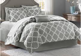 bed sheet and comforter sets merritt gray 9 pc king comforter set king linens gray