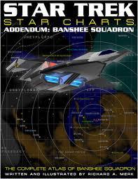 Star Trek Star Charts Banshee Squadron Addendum Star Trek