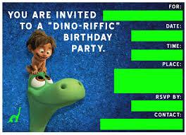 free dinosaur party invitations free good dinosaur birthday party playdate invitation