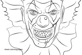 Coloring Pages Of Pennywise The Clown Playanamehelp