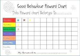 Student Reward Chart Printable Andbeyondshop Co