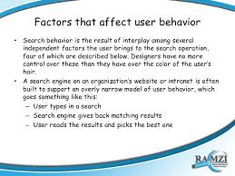 Patterns Of Behavior Beauteous Search Behavior Patterns
