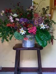 Natural flower arrangement