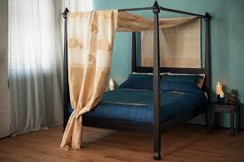 Four Poster Bed Raj Colonial Style Four Poster Bed Natural Bed Company