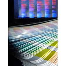 Pantone Color Chart Blue Framed Art For Your Wall Pantone Color Chart Screen Colors Design 10x13 Frame