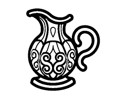 Small Picture Pitcher of water coloring page Coloringcrewcom