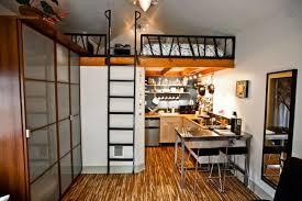 converted one car garage into loft apartment