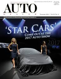massachusetts auto dealer magazine 2016 by massachusetts massachusetts auto dealer 2016