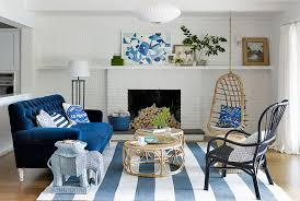 blue couches living rooms minimalist. Modern Minimalist Style Blue Sofas Wooden Floor Room Completed Among Futuristic Fireplace Design Under Living Couches Rooms