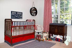 baby nursery red white blue custom ba bedding ba p bedding
