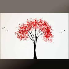 a three toned canvas painting idea