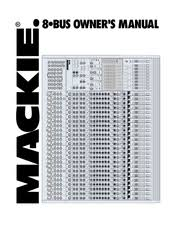 mackie 32 8 bus manuals manuals and user guides for mackie 32 8 bus we have 7 mackie 32 8 bus manuals available for pdf owner s manual user manual brochure