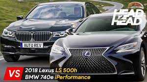 2018 lexus hybrid sedan. interesting sedan 2018 lexus ls500h vs bmw 740e iperformance  luxury hybrid sedan comparison in lexus hybrid sedan