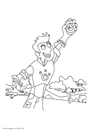 Small Picture Download Coloring Pages Wild Kratts Coloring Pages Wild Kratts