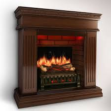 electric fireplace english cherry wood