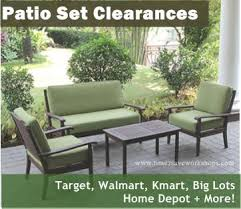 Patio Patio Furniture Walmart Clearance Home Interior Design