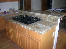 granite tile countertop kitchen installation