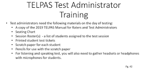 Testing Seating Chart Test Administrator Training Ppt Download
