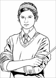 Small Picture Harry Potter Coloring Pages QuidditchPotterPrintable Coloring