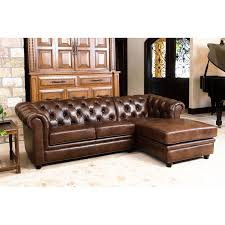 abbyson living sofa awesome abbyson tuscan top grain leather 3 piece sectional sofa of abbyson living