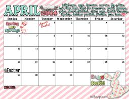 april calendar april calendar and spring print is here inkhappi