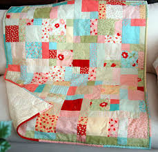 What's new?: How many quilts can you get & I had 42 five-inch squares which I used as the centers combined with the  2.5 inch randomly cut strips to make seven inch squares . I backed this  quilt with ... Adamdwight.com