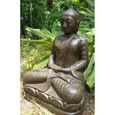 statue statuette statue jardin bouddha is en fibre position offr