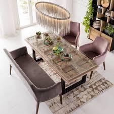 Im Kare Set Altrosa Rosa Stuhl Stühle Esszimmerstuhl
