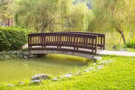 49 backyard garden bridge ideas and
