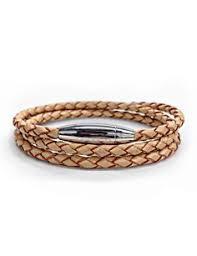 Steel <b>armor</b> clasp with tan braided leather wrap | <b>Браслеты</b>