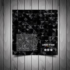 Black Flyer Backgrounds Black Business Flyer Template Free Vector In Adobe