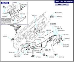 Triumph Spitfire Door Lock Mechanism Mkiv And 1500 Parts Y