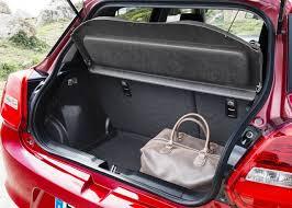 2018 suzuki swift sport interior. simple swift 2018 suzuki swift sport trunk space to suzuki swift sport interior