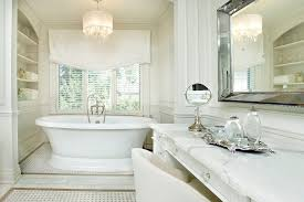 toronto seagrass chandelier shades bathroom traditional with dressing table vanity lights relaxed roman shade