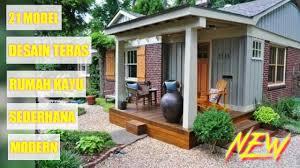 Umumnya desain rumah sederhana di kampung masih menganut ide tradisional di mana rumah adalah tempat bernaung bagi keluarga. 22 Model Desain Teras Rumah Minimalis Sederhana Yang Bernuansa Modern Youtube