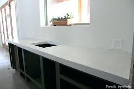 how to make concrete counters white concrete a tutorial poured concrete countertops vs granite concrete countertop