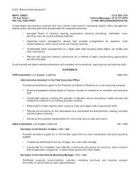 Sample Resume Retail Administrative Assistant Best Sample Resume